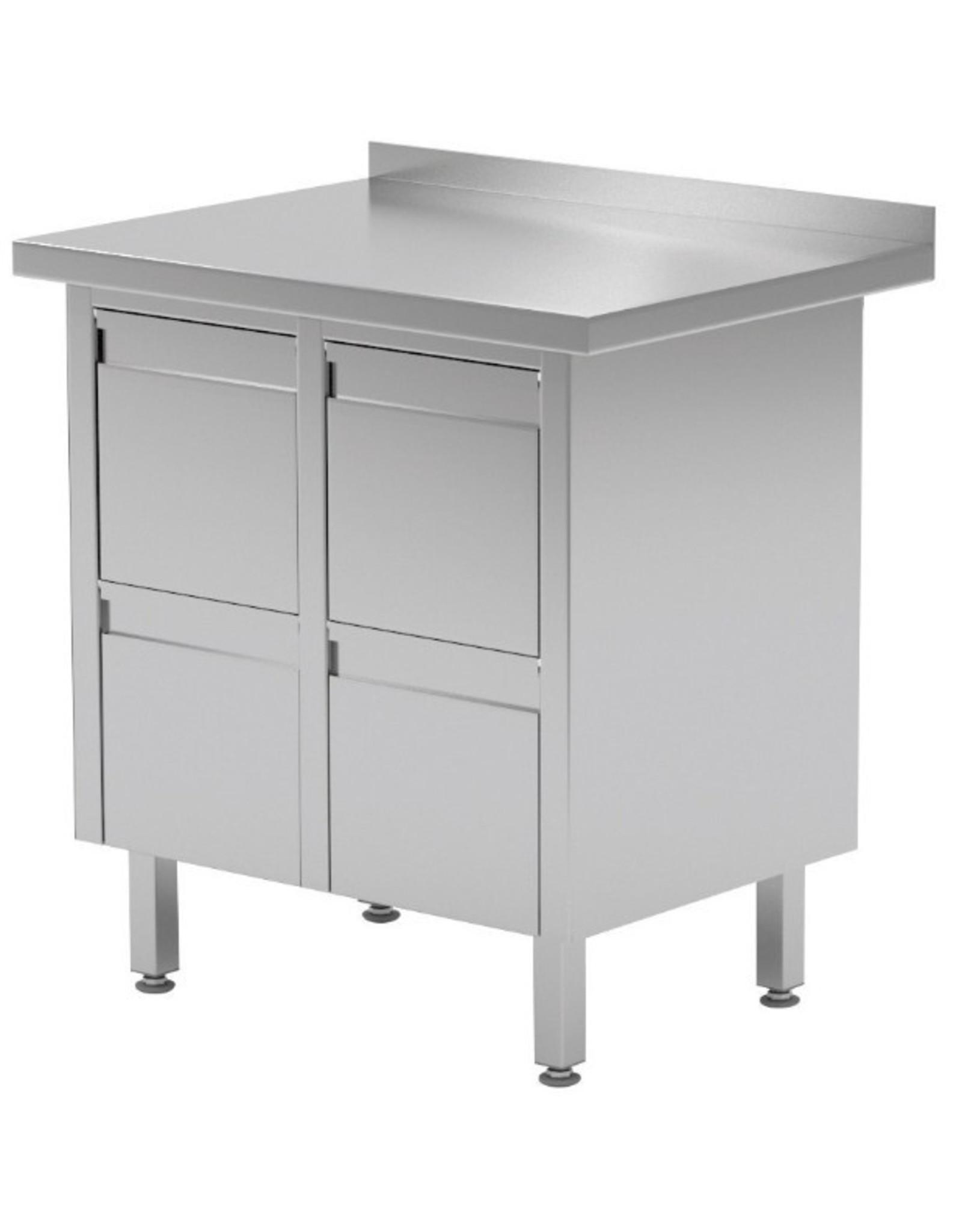 Werktafel met 4 lades | 830mm breed | 600 of 700mm diep