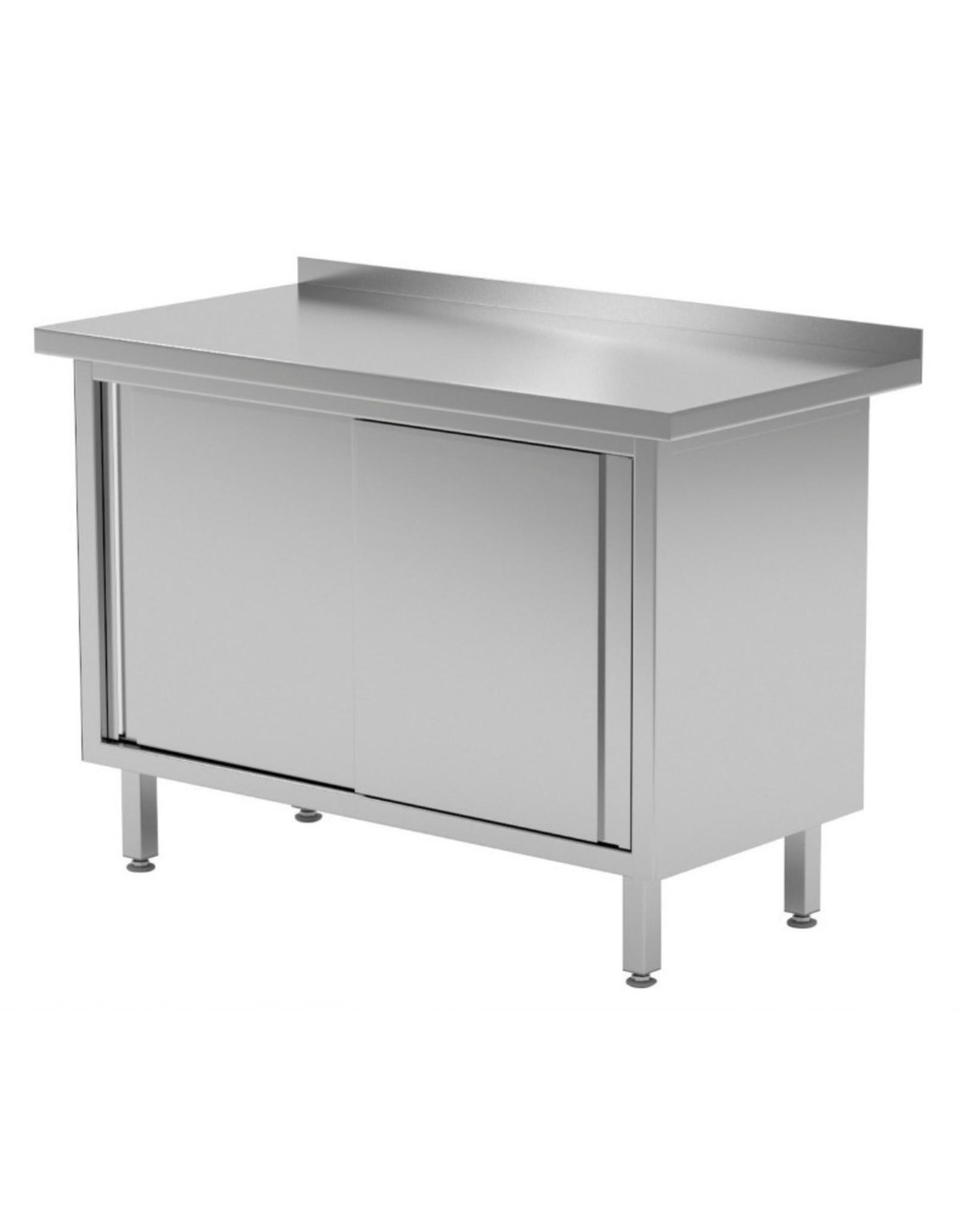 Werktafel met schuifdeuren | 800-1900mm breed | 600 of 700mm diep
