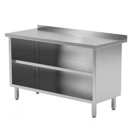 Werktafel met open kast | 500-1800mm breed | 600 of 700mm diep