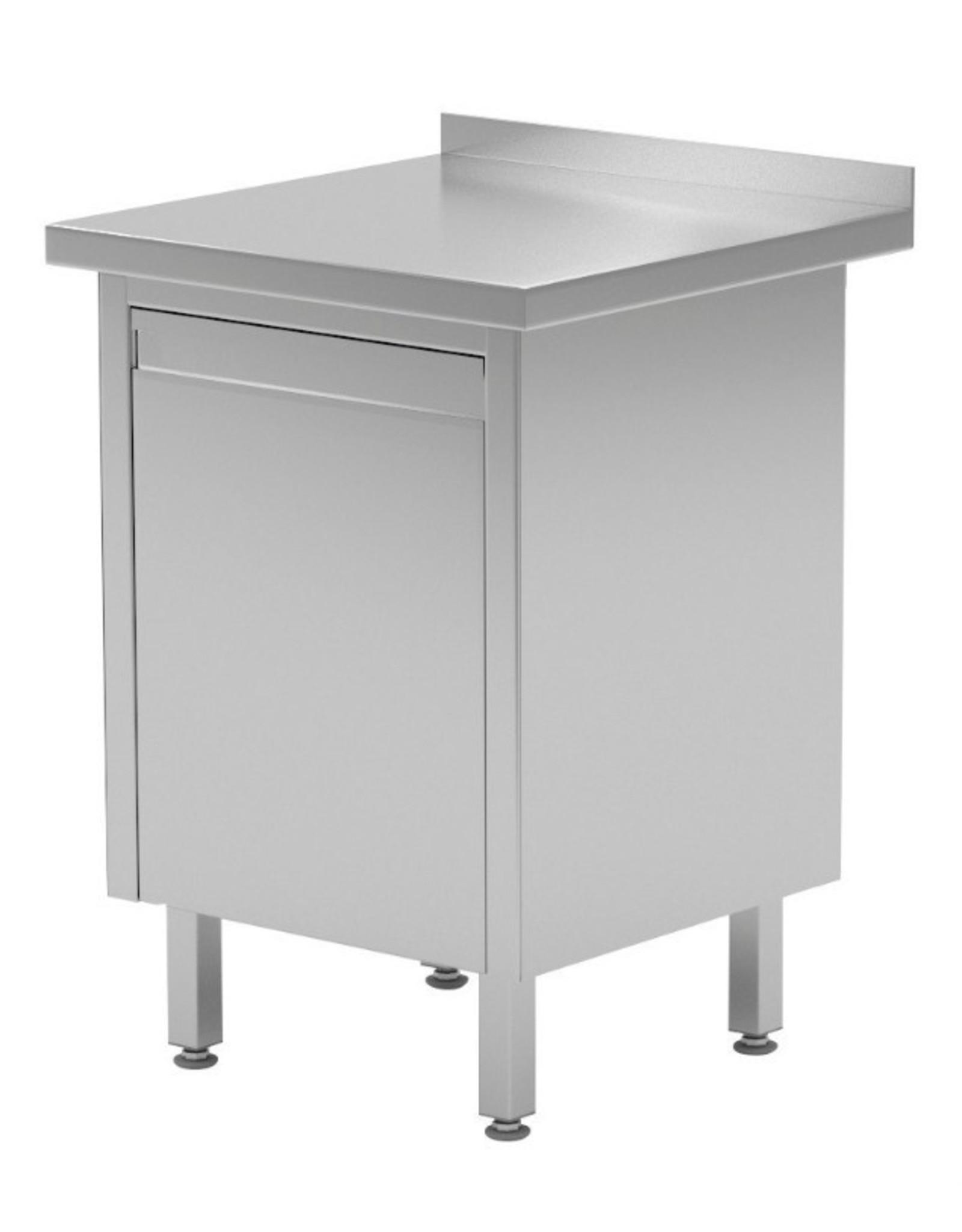 Werktafel met kantelbare prullenbak | 430mm breed | 600 of 700mm diep