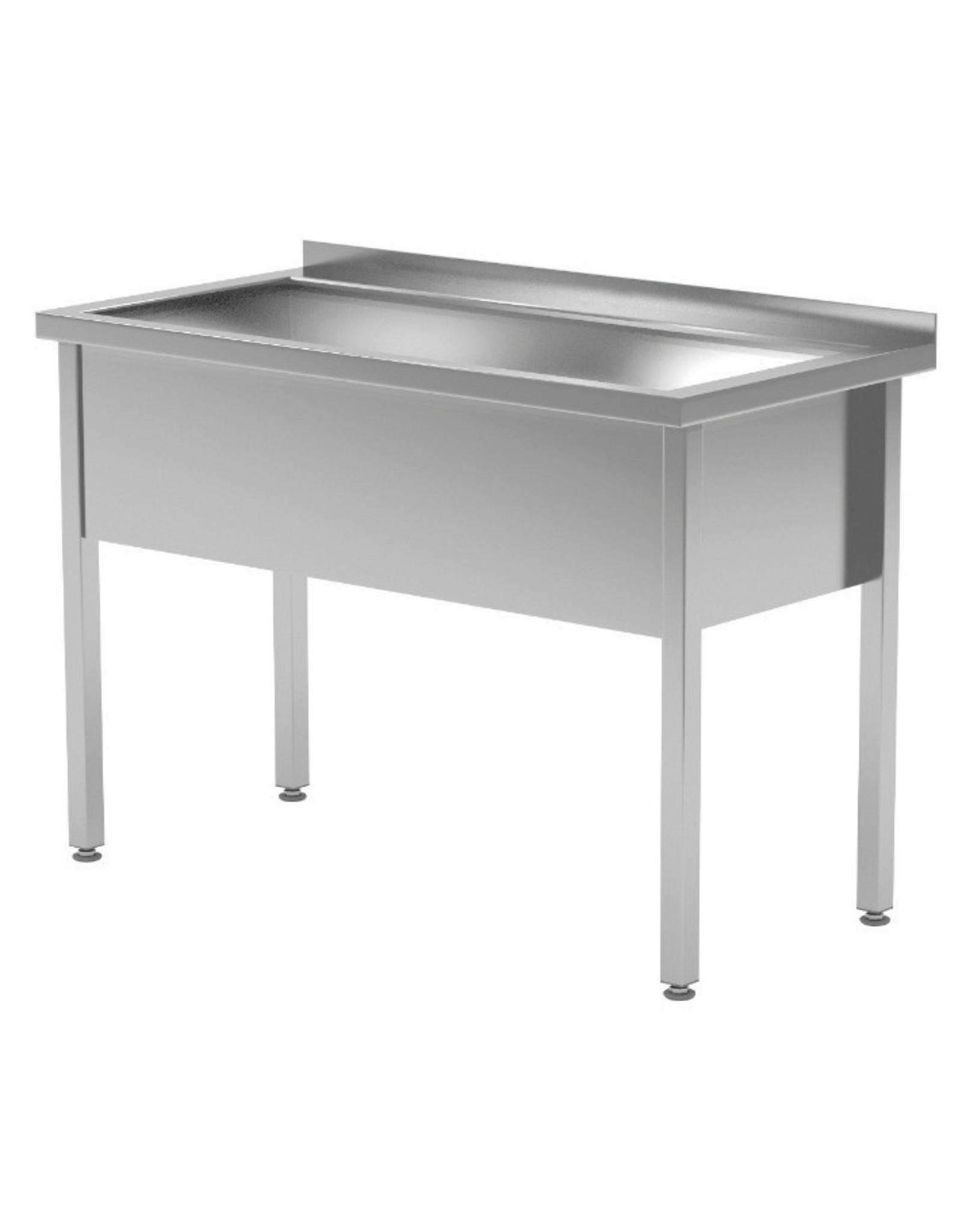 Grote wasbak tafel | 300mm diepte wasbak | 600-1200mm breed | 600 of 700mm diep
