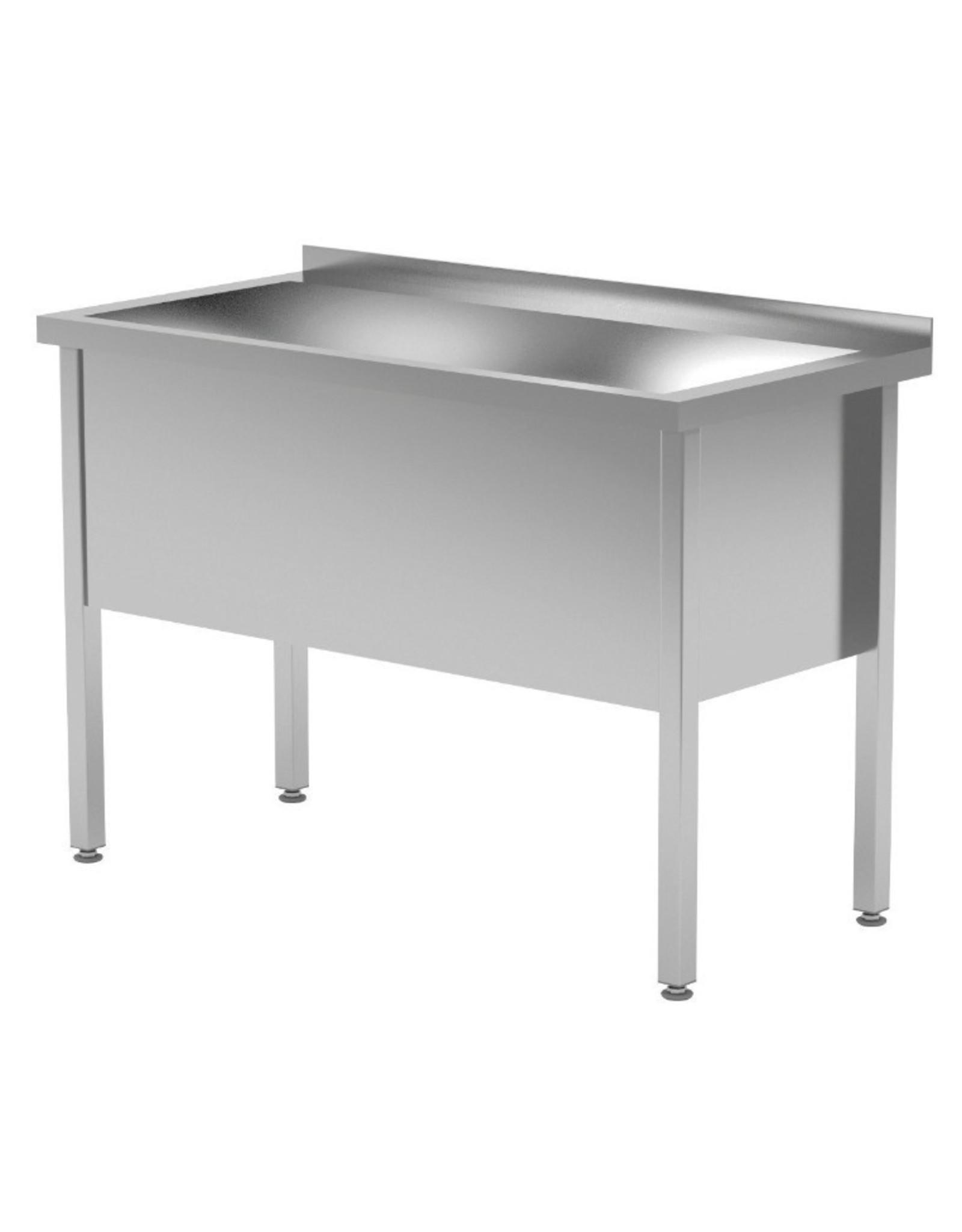 Grote wasbak tafel | 400mm diepte wasbak | 600-1200mm breed | 600 of 700mm diep