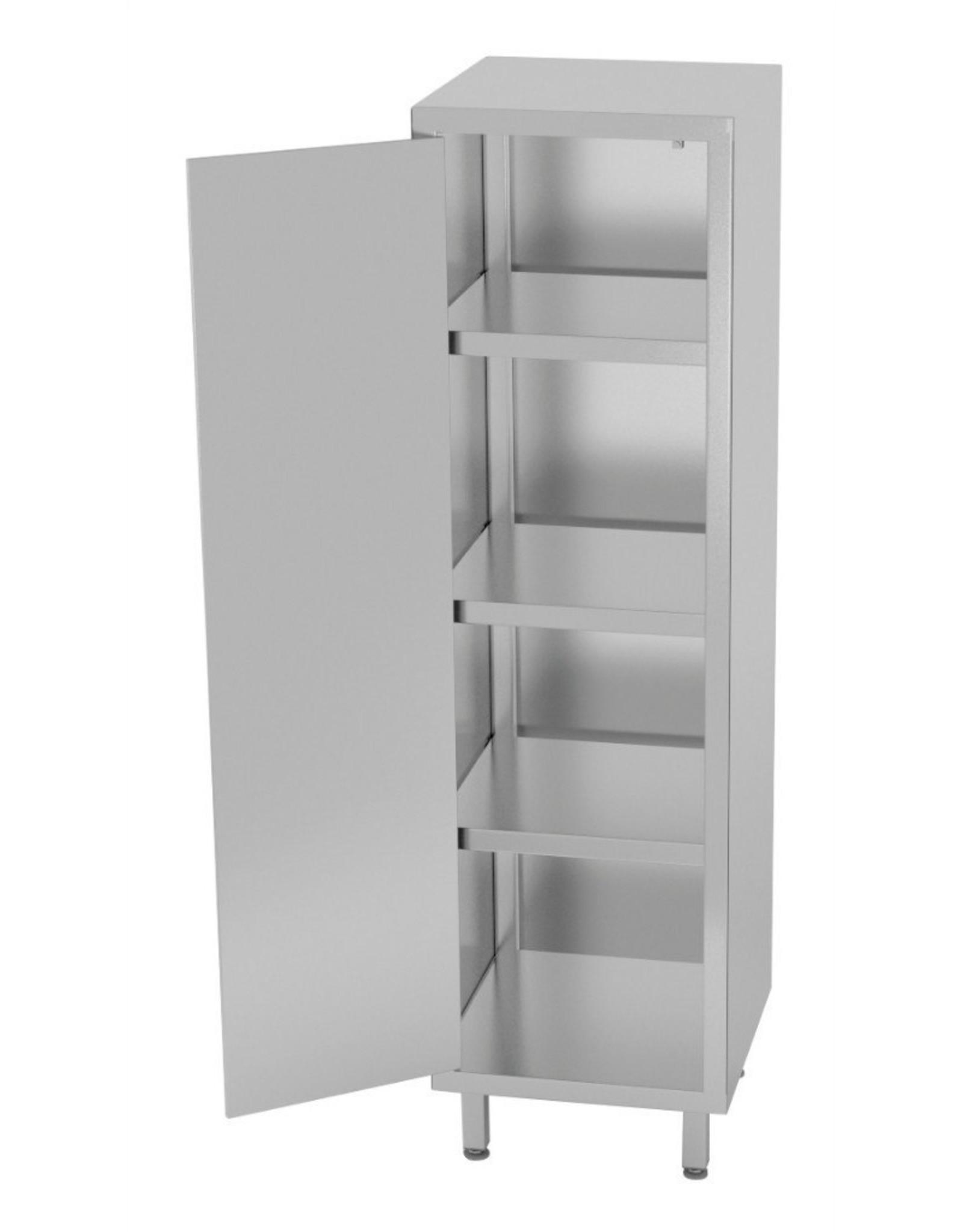 Kast met klapdeur   400-600mm breed   500-700mm diep   1800mm hoog