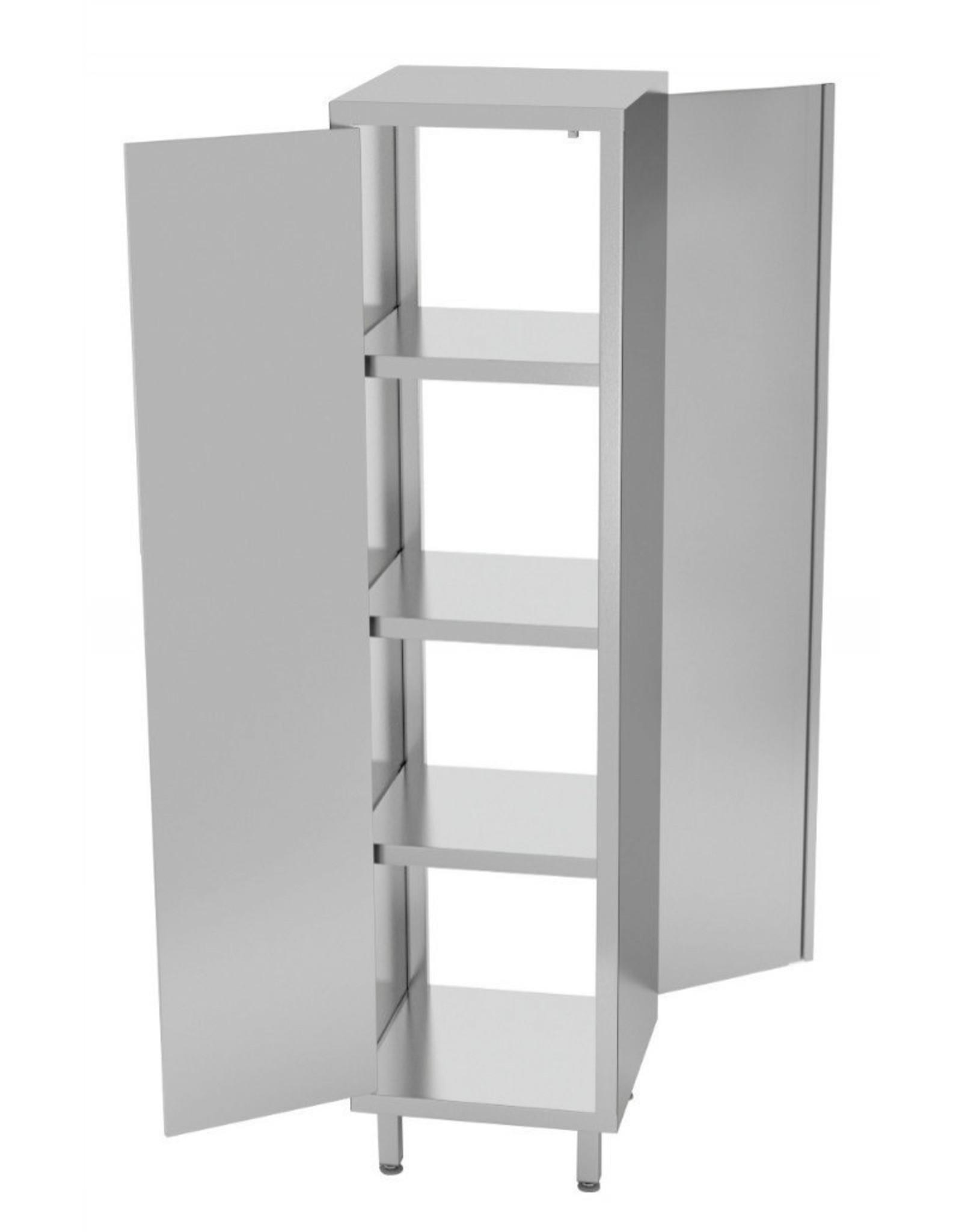 Kast pass-through met klapdeur | 400-600mm breed | 500-700mm diep | 1800mm hoog
