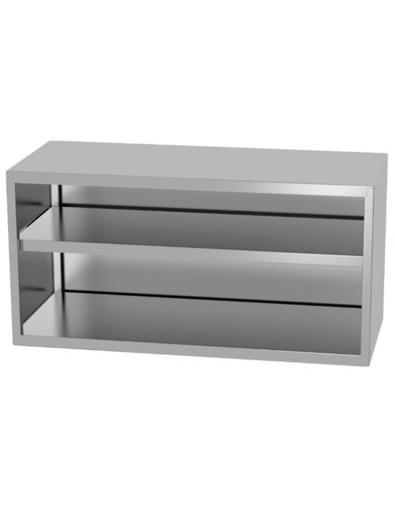 Wandkast | open model | 400-1600mm breed | 300 of 400mm diep | 600mm hoog