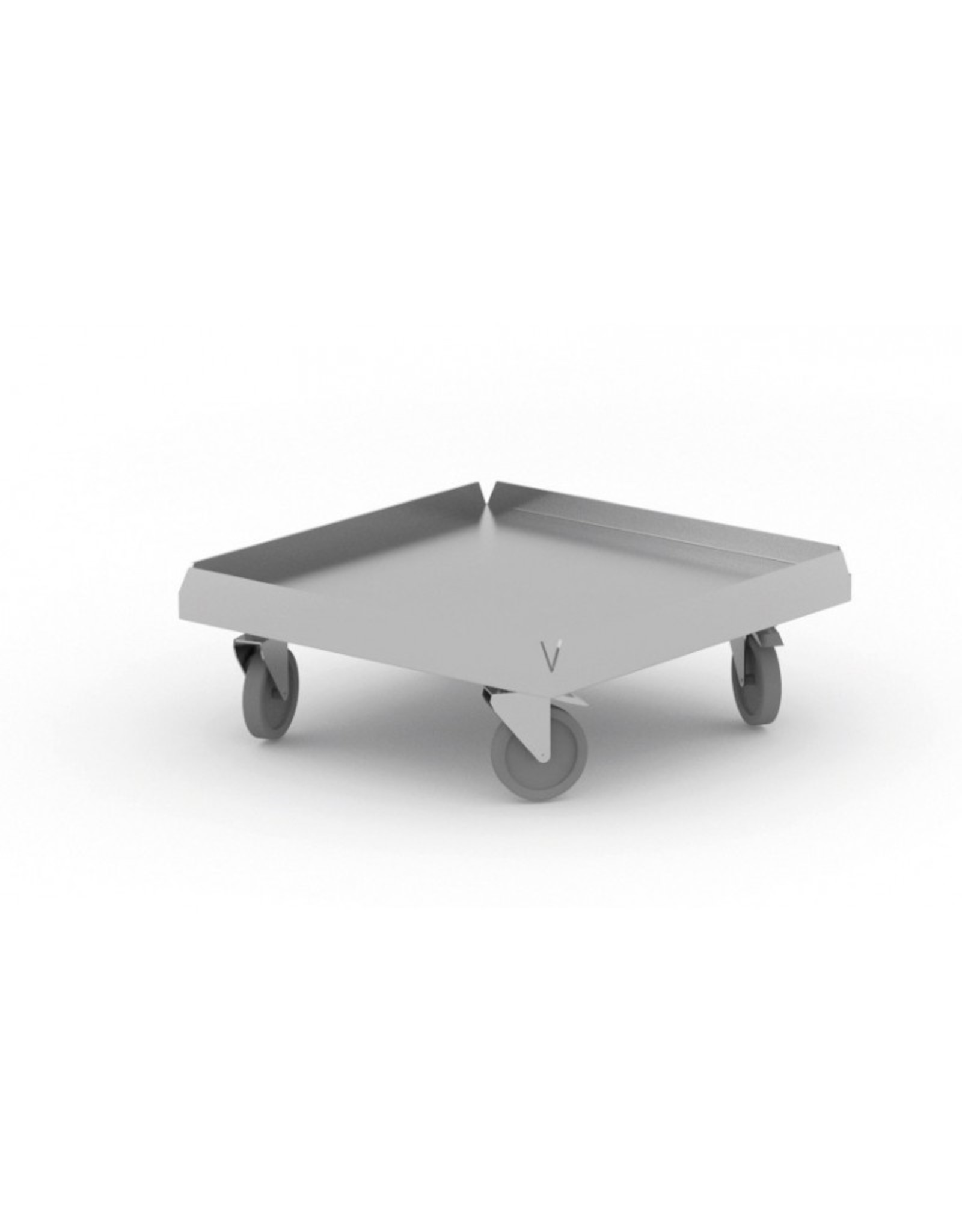 Korven transport trolley | voor 50x50cm | 510mm breed | 510mm diep