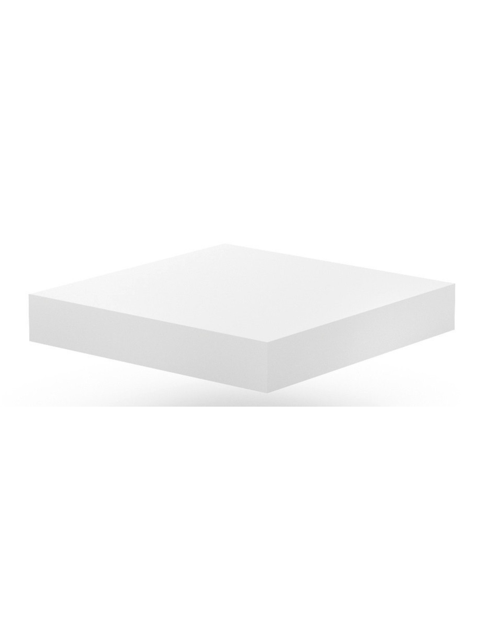 Hakblok onderstel | inclusief kunststof hakblok | 400-500mm breed | 400 of 500mm diep