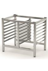 Oven onderstel | met 1/1GN regalen | 830mm breed | 585mm diep
