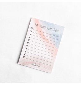 Noteblock A6 | Van dromen naar doelen