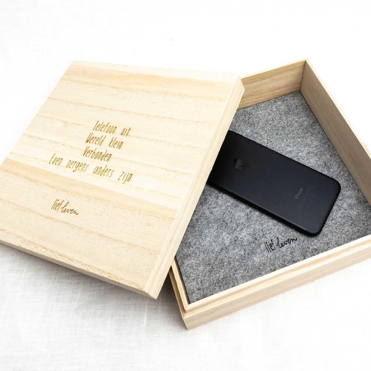 Telefoon doos | Offline verbinden