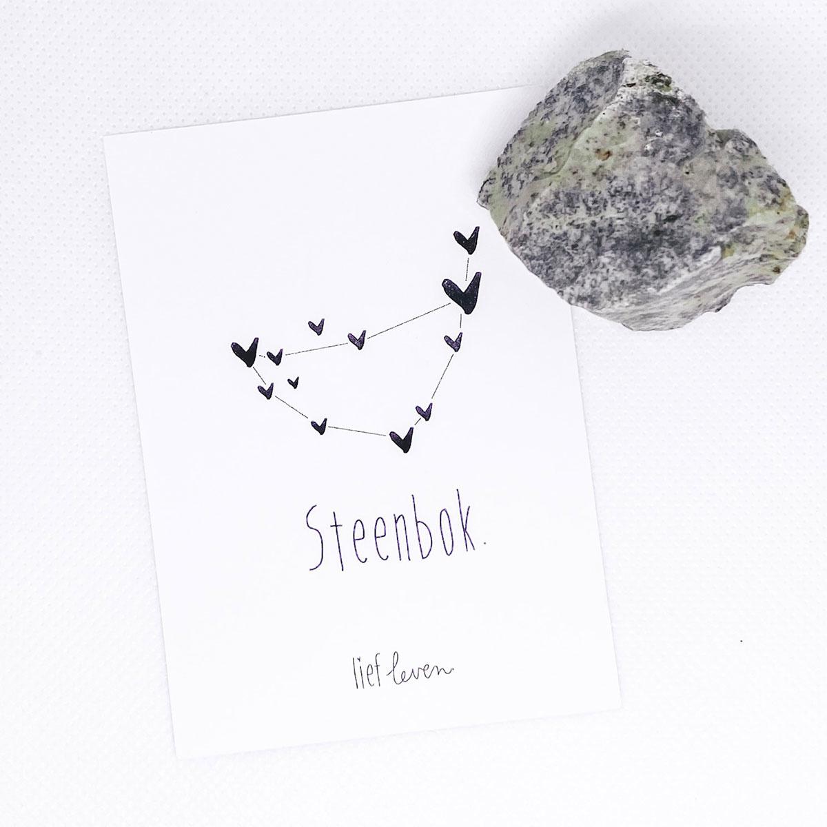 Edelsteen sterrenbeeld • Steenbok