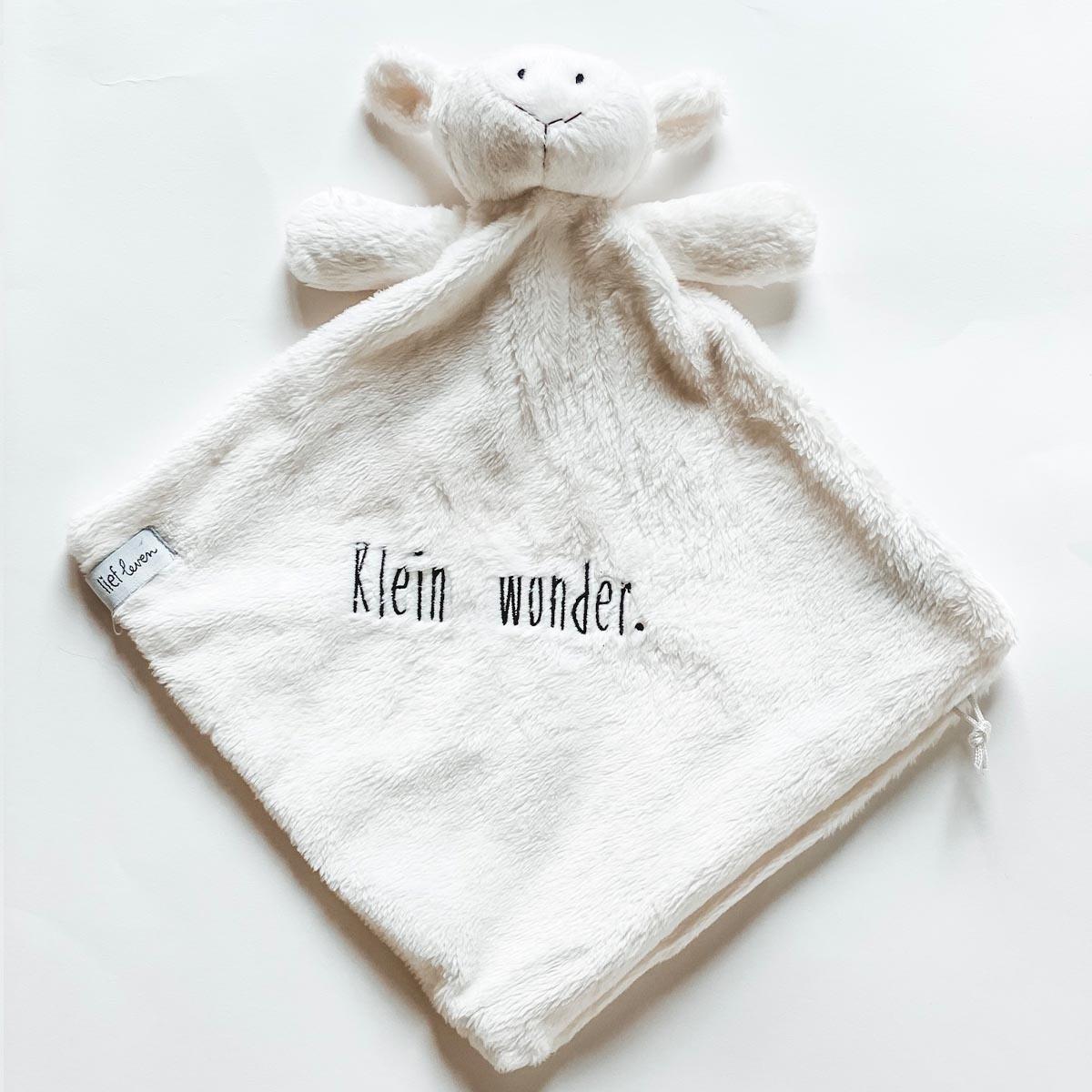 Baby knuffeldoekje • Wit