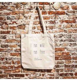 Canvas Tas • I run wild. I run free.