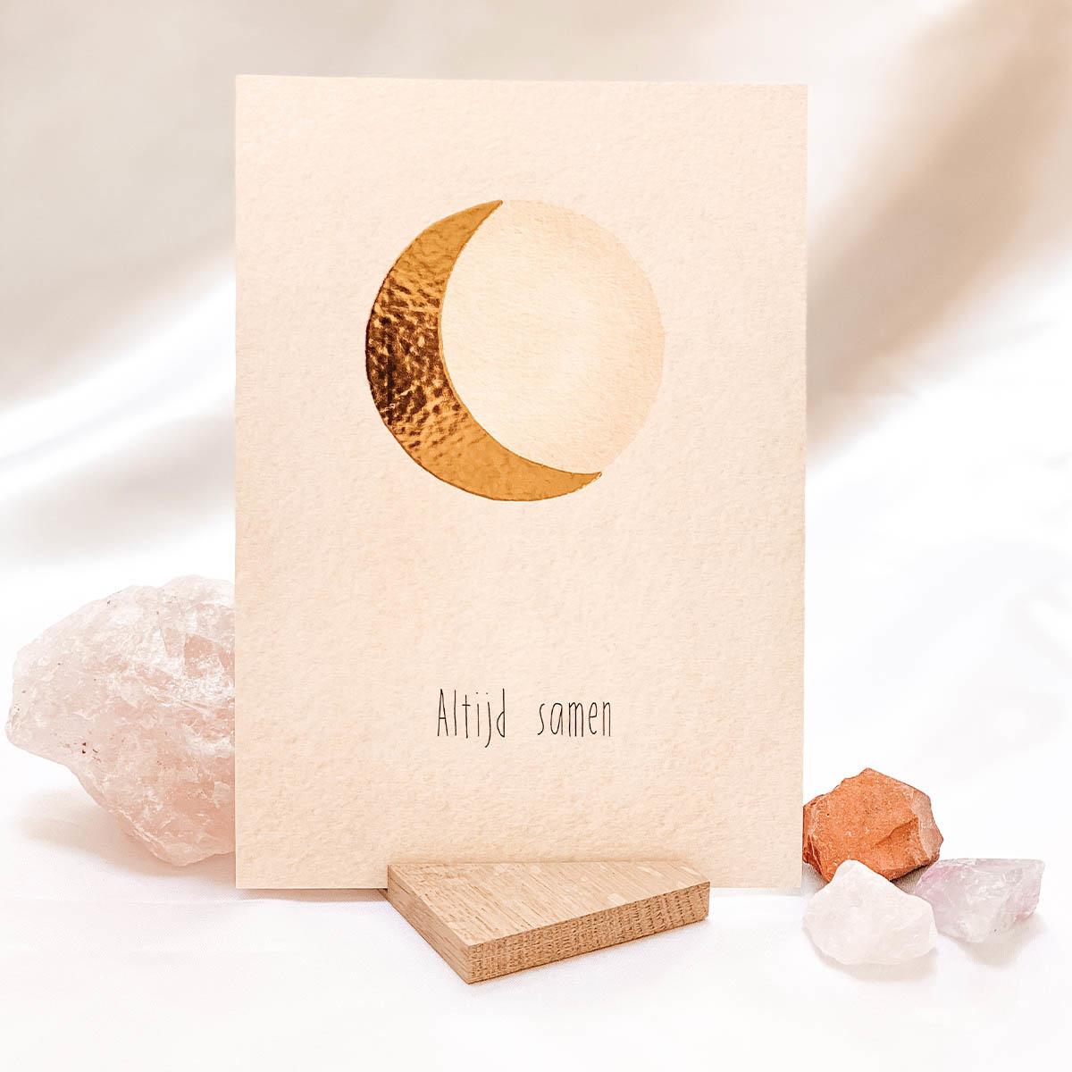 Special edition maanposter  • Altijd samen