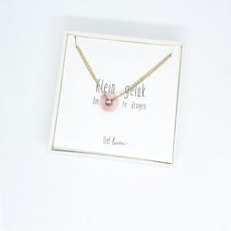 Armband steen roze • Liefde