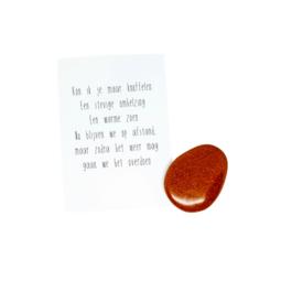 Knuffelsteen • Goudsteen