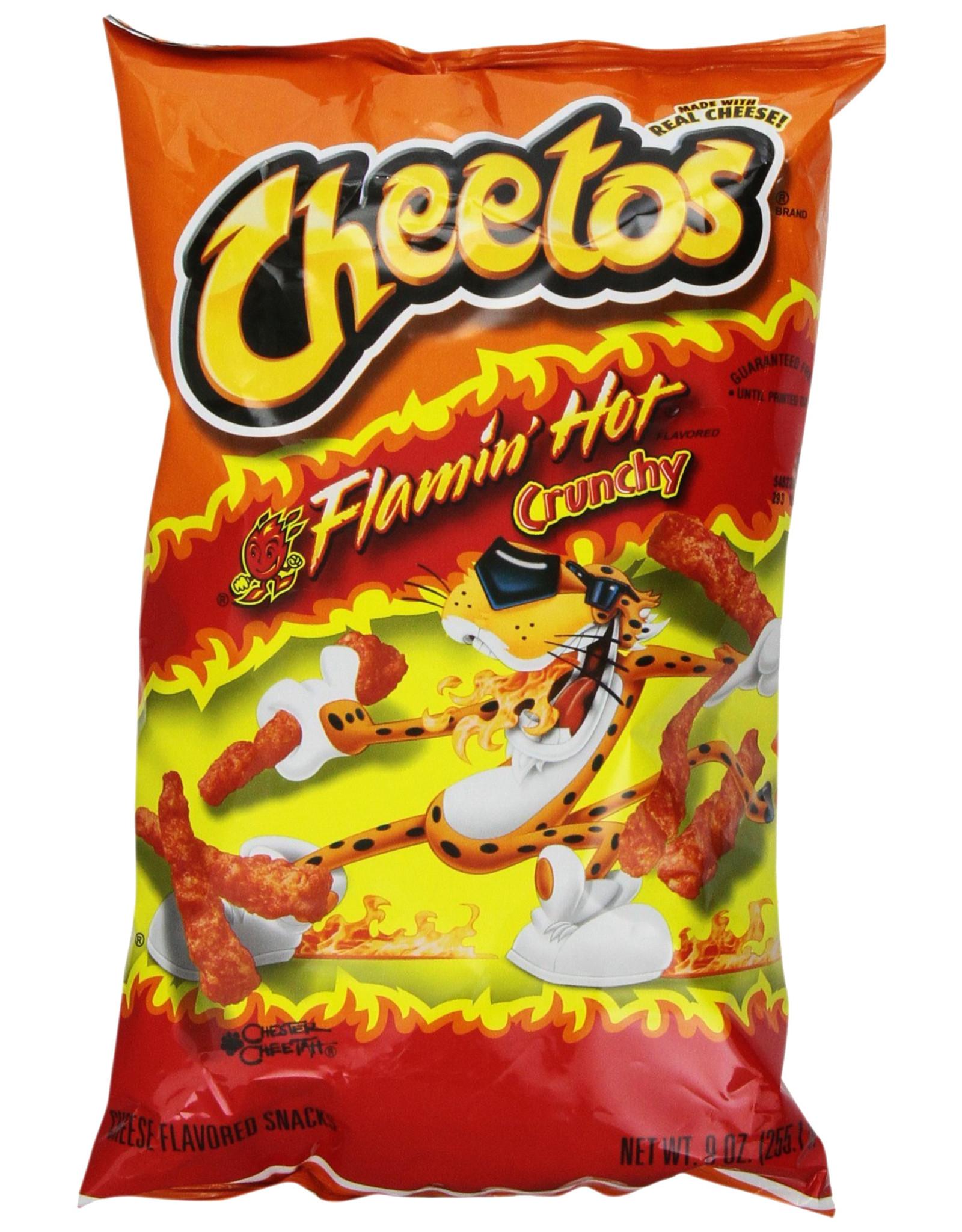 Cheetos Crunchy Flamin' Hot - Large - 226g