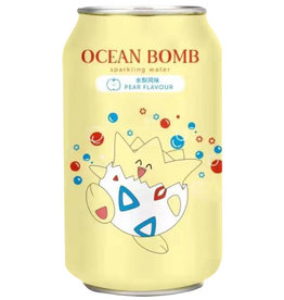 Ocean Bomb Pokémon Drink - Togepi - Pear Flavored - Deep Sea Sparkling Water