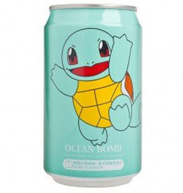 Ocean Bomb Pokémon Drink - Squirtle - Spuitwater met de smaak van peer