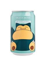 Ocean Bomb Pokémon Drink - Snorlax - White Grape Flavored - Deep Sea Sparkling Water