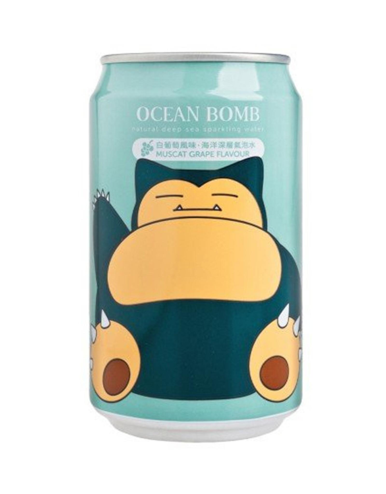 Ocean Bomb Pokémon Drink - Snorlax - Spuitwater met de smaak van witte druiven