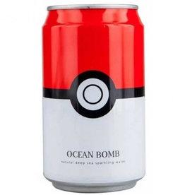 Ocean Bomb Pokémon Drink - Pokéball - Deep Sea Sparkling Water