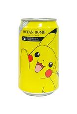 Ocean Bomb Pokémon Drink - Pikachu - Cider Flavored - Deep Sea Sparkling Water