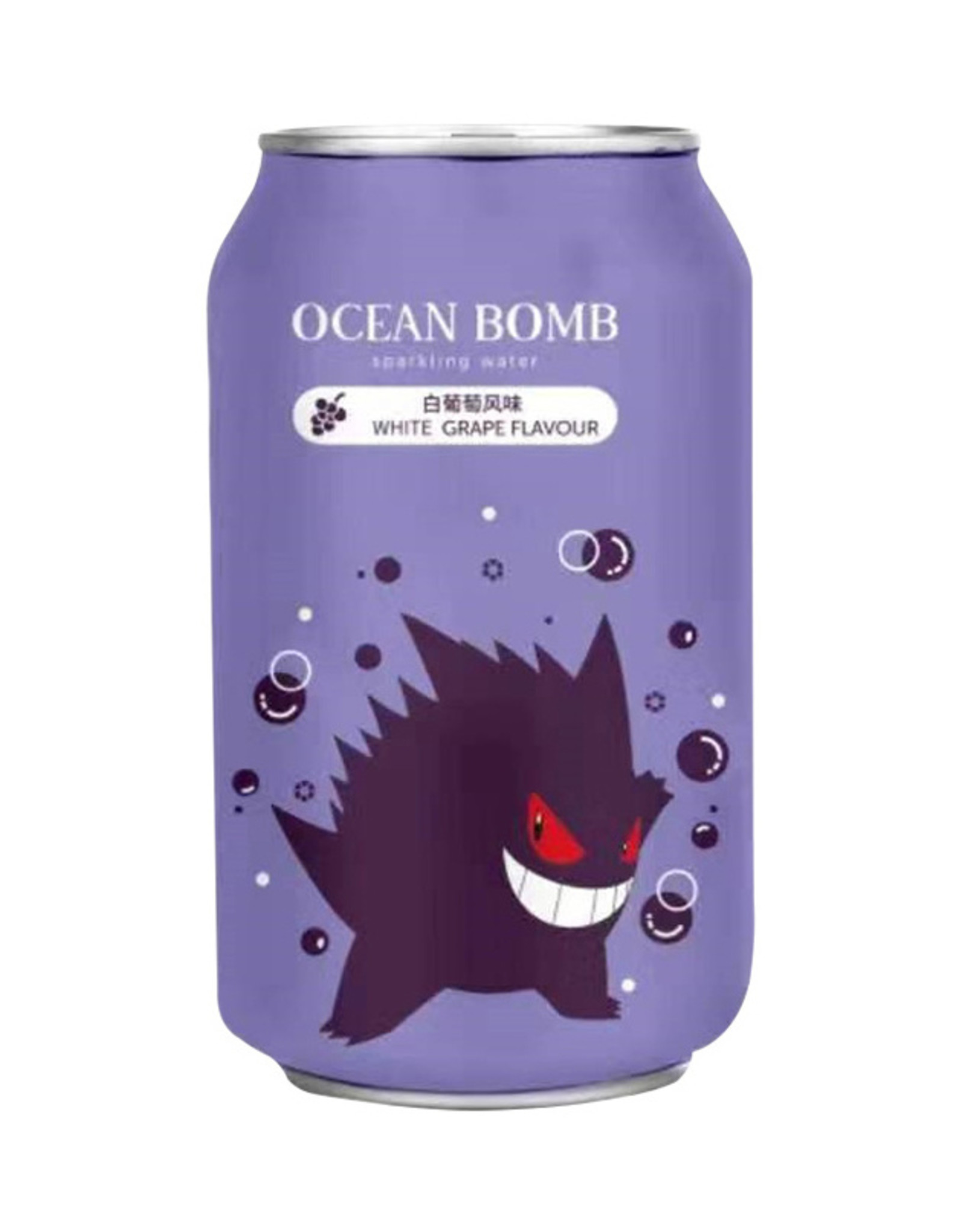 Ocean Bomb Pokémon Drink - Gengar - Spuitwater met de smaak van witte druif