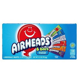 Airheads - 6 bars - Assorted Flavors - 93.6g