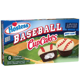 Baseball Cupcakes - Night Game Limited Edition - Box of 8 - 360g