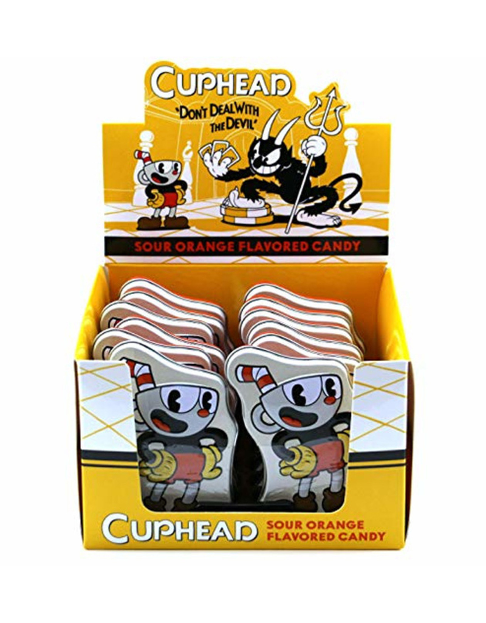 Cuphead Sour Orange Flavored Candy - 34g