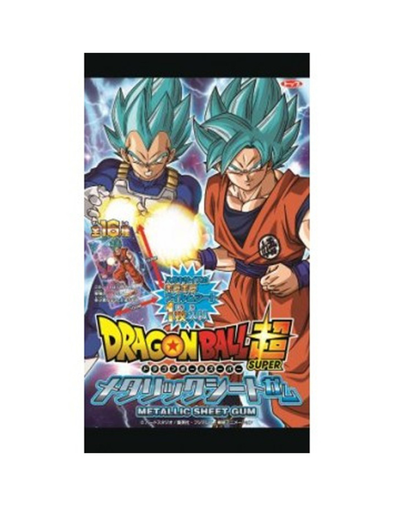Dragon Ball Super Metalic Sheet Chewing Gum