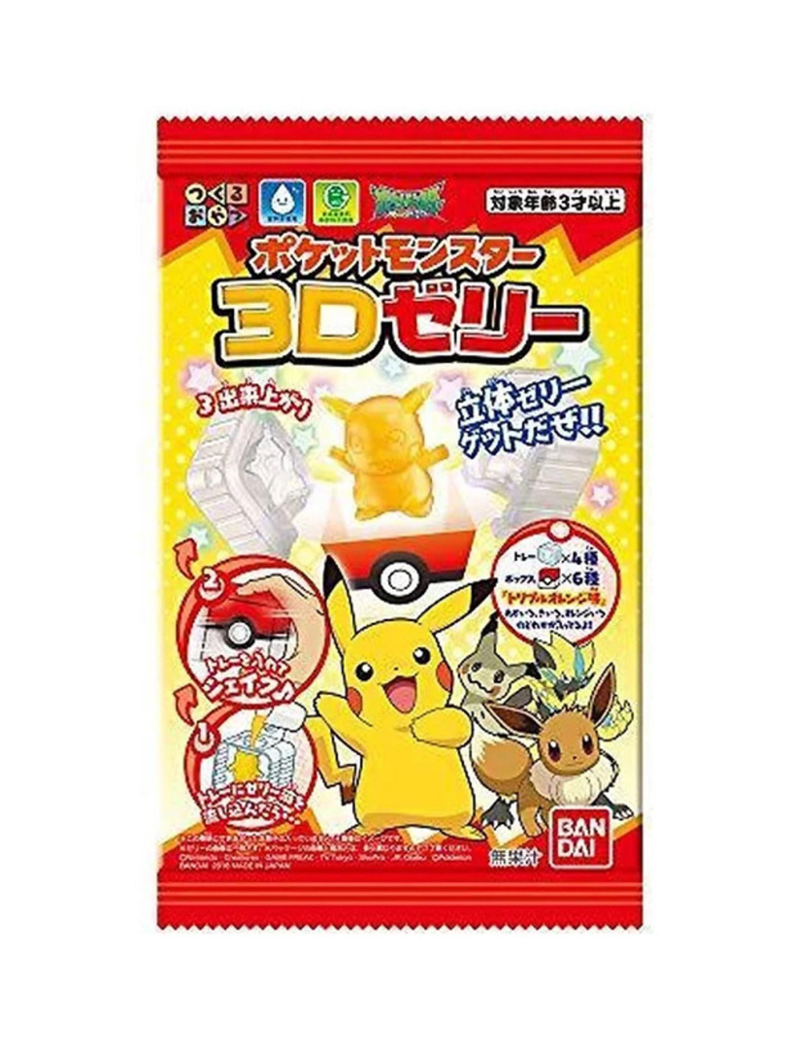 Pokémon 3D Jelly DIY Candy Kit