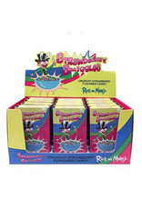 Rick & Morty - Strawbery Smiggles - Crunchy Strawberry Flavored Candy - 34g