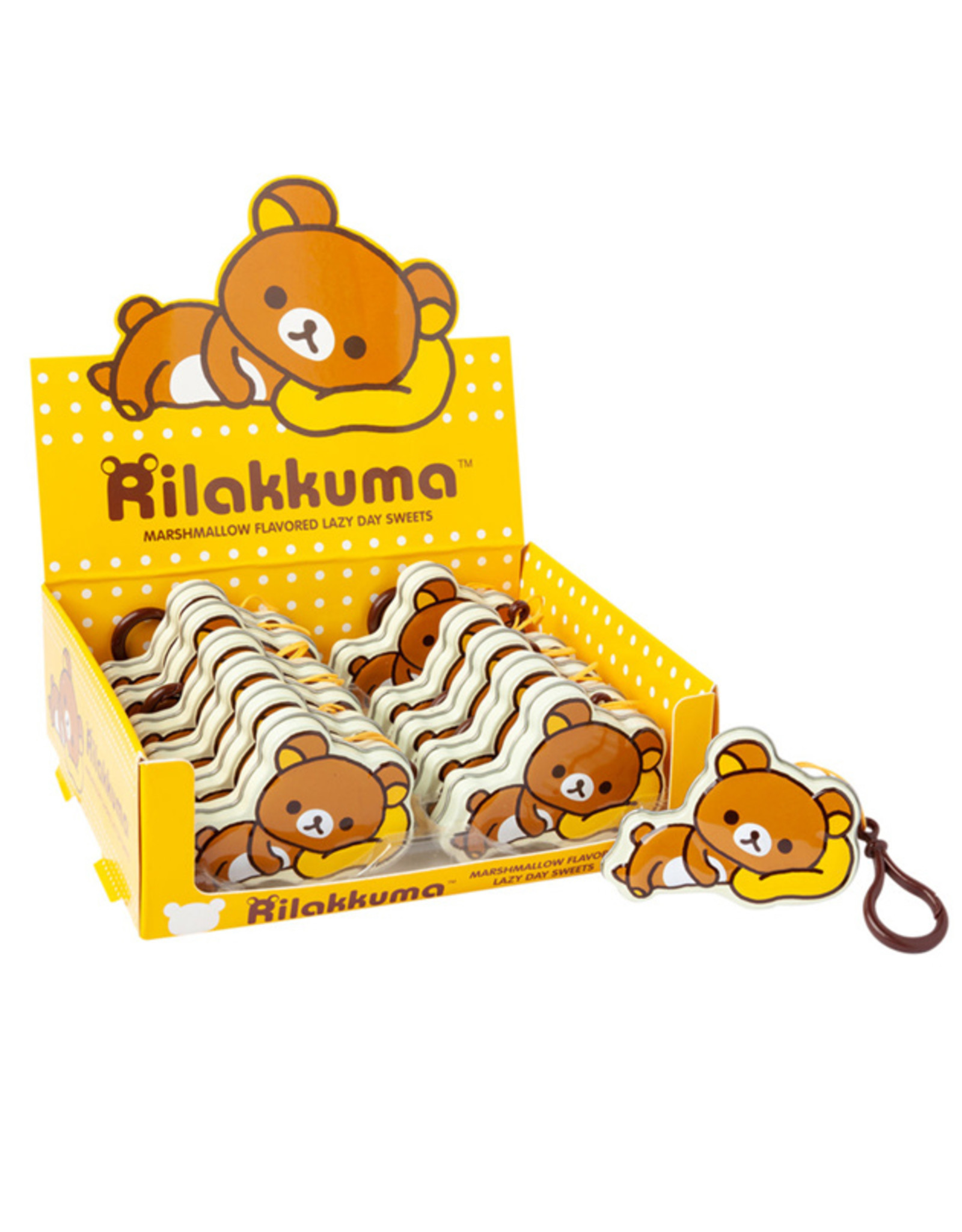 Rilakkuma Marshmallow Flavored Lazy Day Sweets - 19g