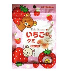 Rilakkuma Strawberry Gummy - 40g