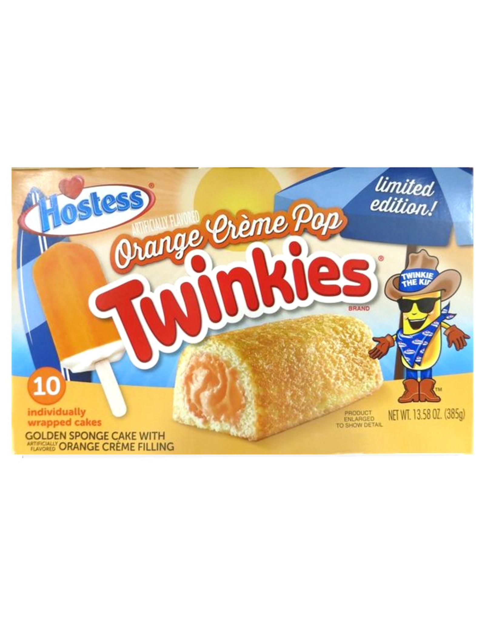 Twinkies Orange Crème Pop - Limited Edition - Doos van 10 - 385g