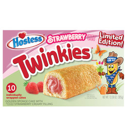 Twinkies Strawberry - Limited Edition - Box of 10 - 385g