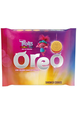 Oreo - Trolls World Tour Limited Edition - Pink Colored Cream With Glitter - 303g