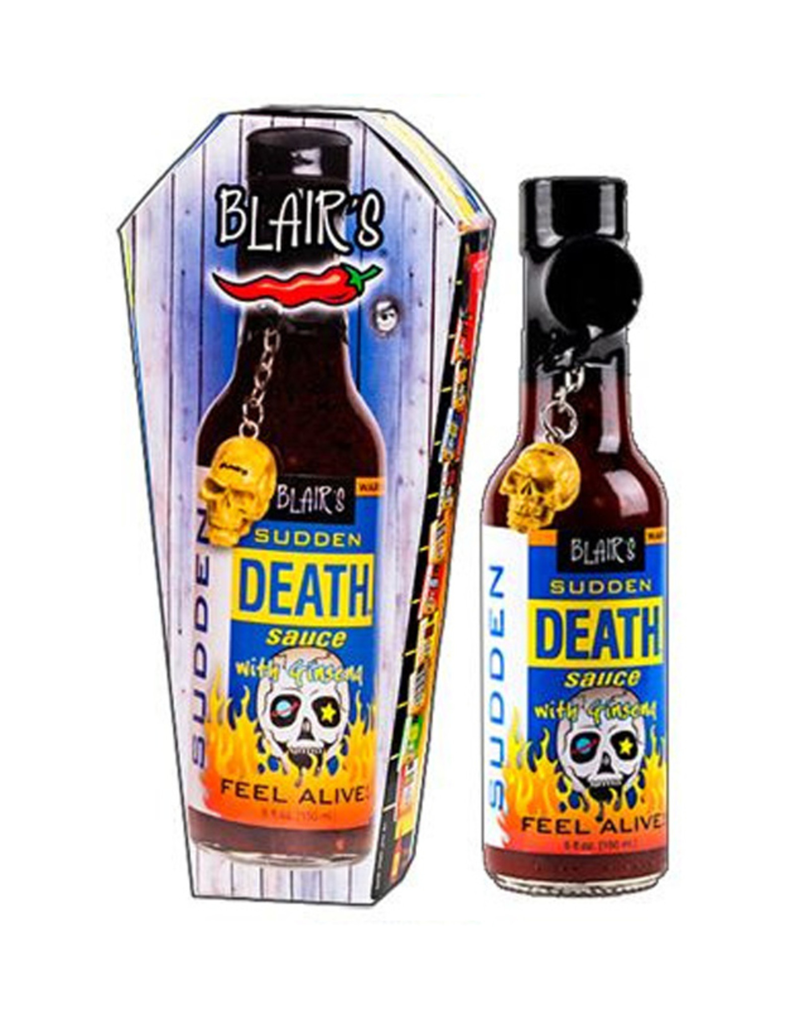 Blair's Sudden Death Sauce with Ginseng - Collector's Edition - 150ml