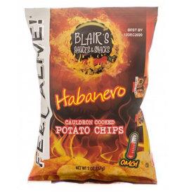 Blair's Habanero Cauldron Cooked Potato Chips - 57g
