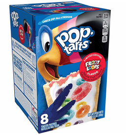 Pop-Tarts Froot Loops Flavor - Limited Edition - 8 Pack - 384g