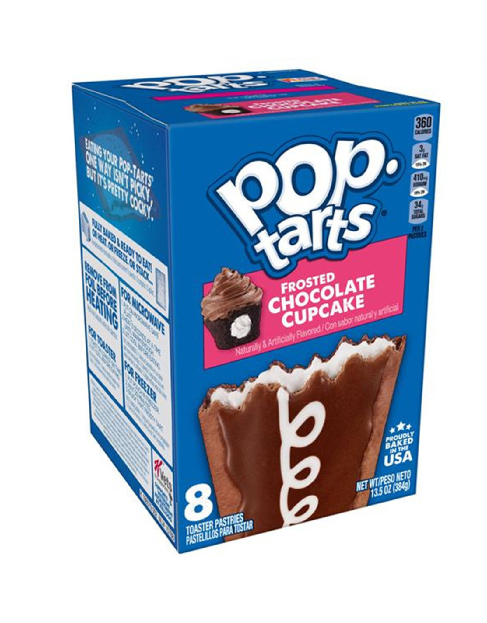 Pop-Tarts Frosted Chocolate Cupcake - 8 Pack - 384g