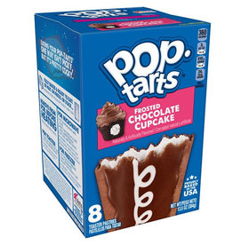 Pop-Tarts Frosted Chocolate Cupcake - 8 Pack - 384g (THT-datum: 01/10/2021)