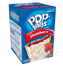 Pop-Tarts Frosted Strawberry - 8 Pack - 416g