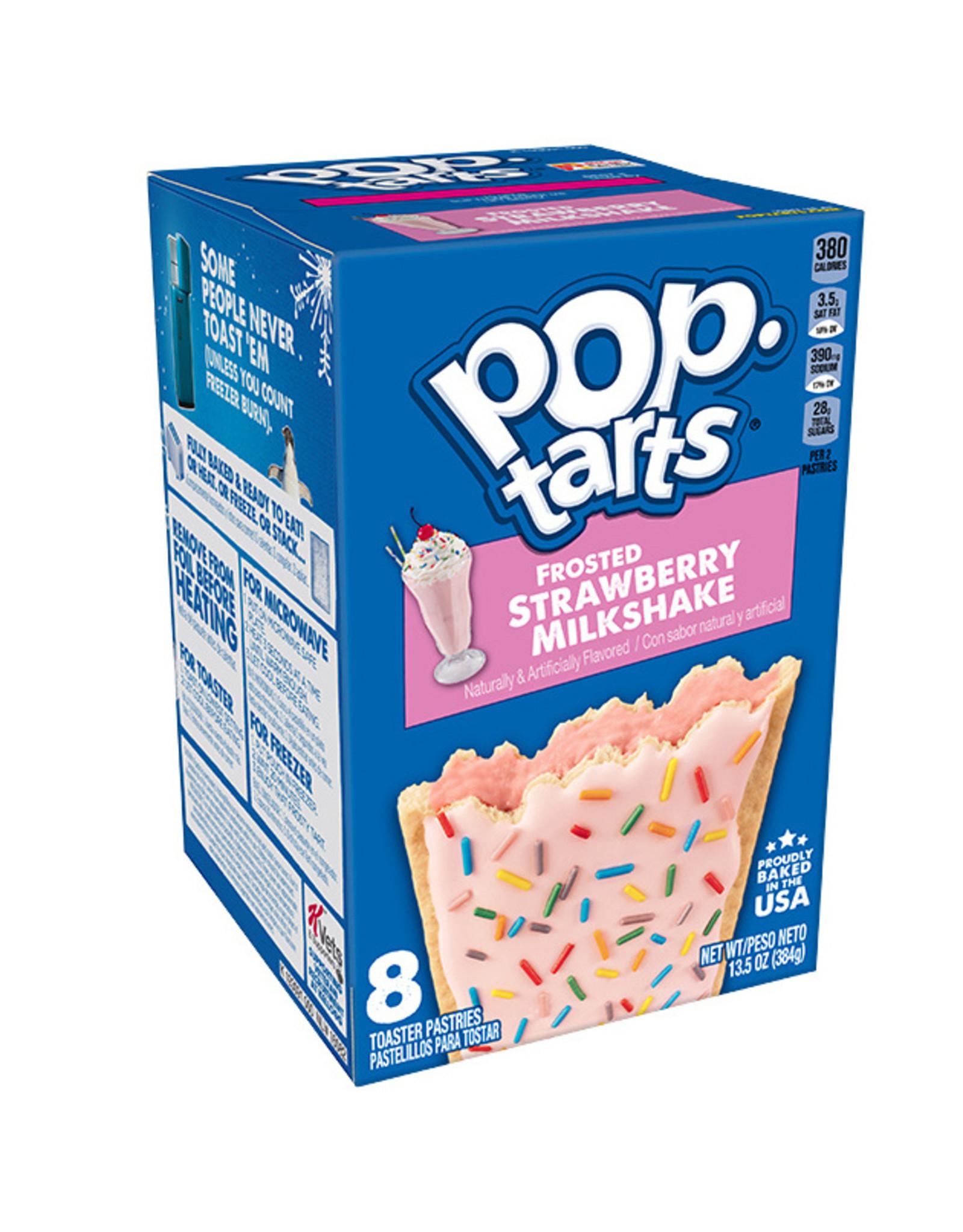 Pop-Tarts Frosted Strawberry Milkshake - 8 Pack - 384g