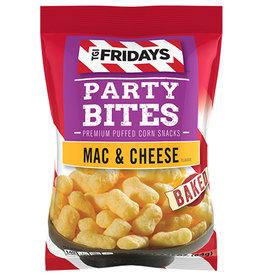 TGI Fridays Party Bites - Mac & Cheese - Premium Puffed Corn Snacks - 92.3g - THT-datum: 11/11/2020