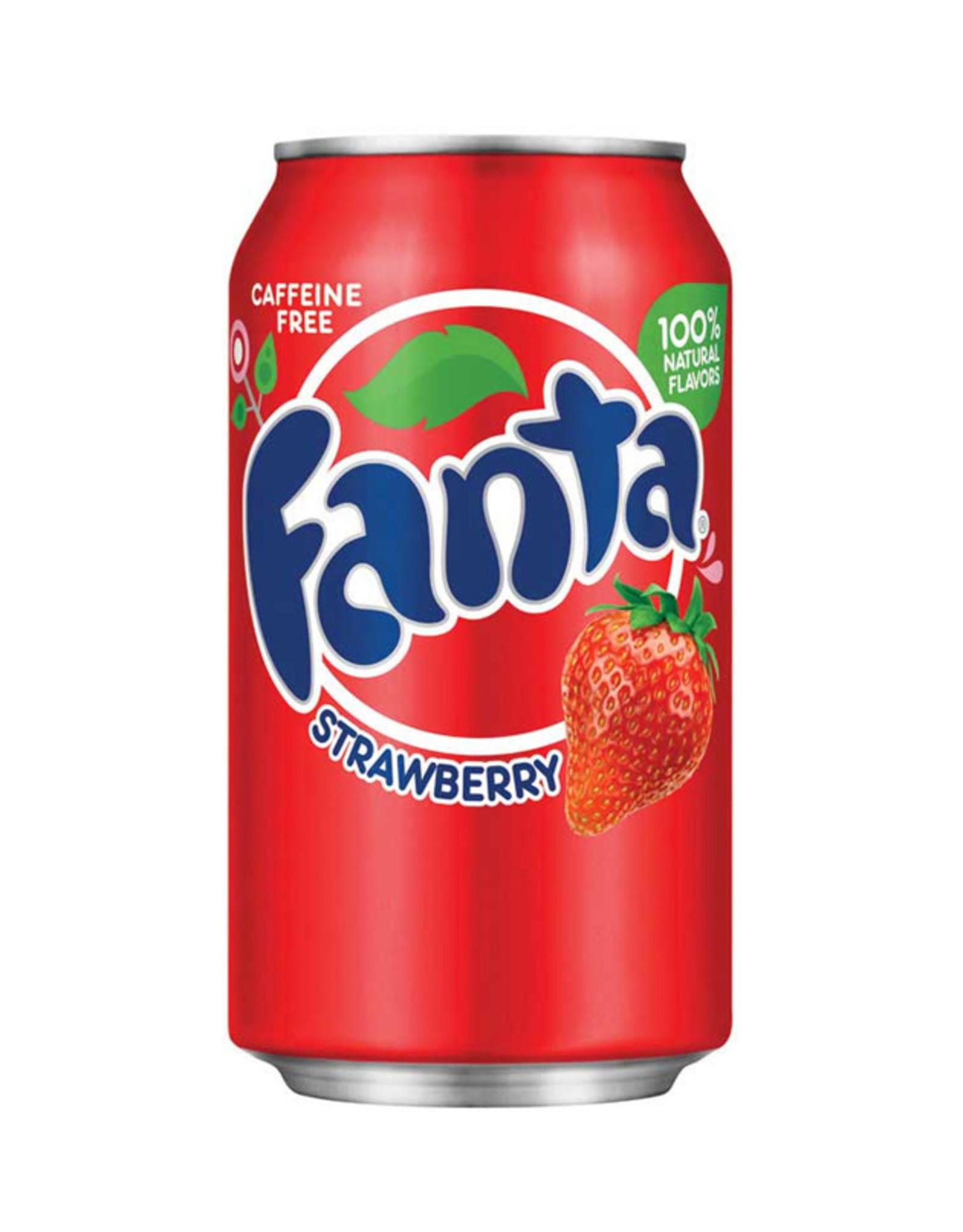 Fanta Strawbery - 355ml