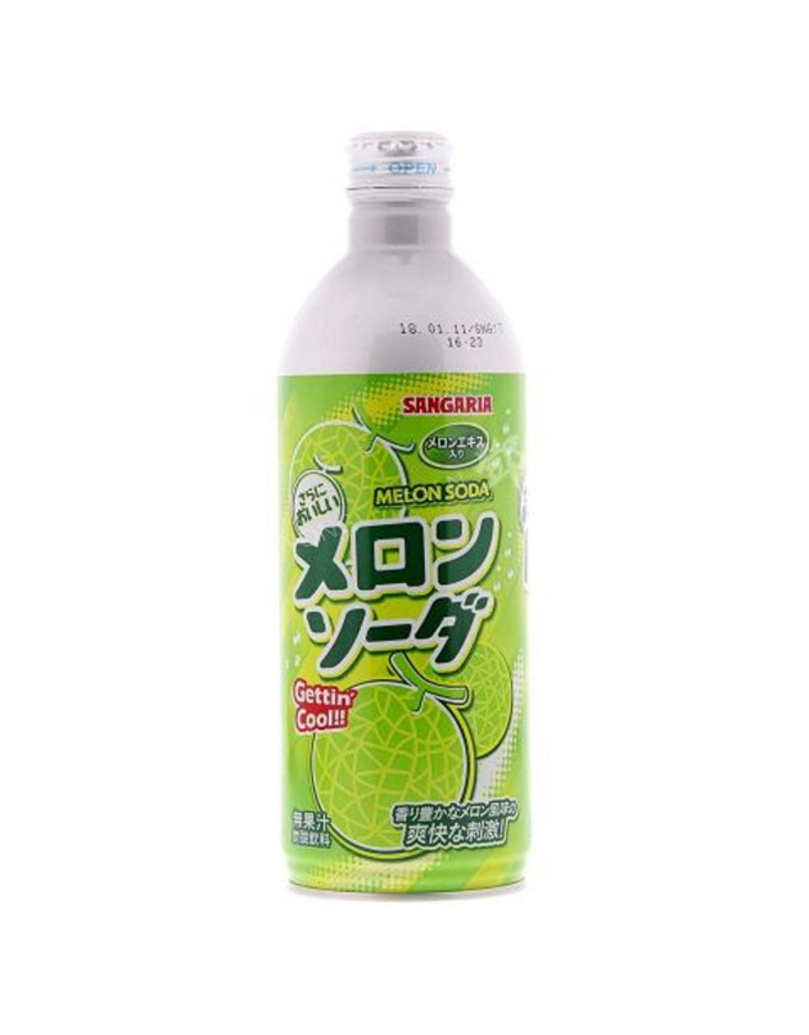 Melon Soda - 500 ml