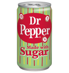 Dr. Pepper Made With Sugar - 35cl